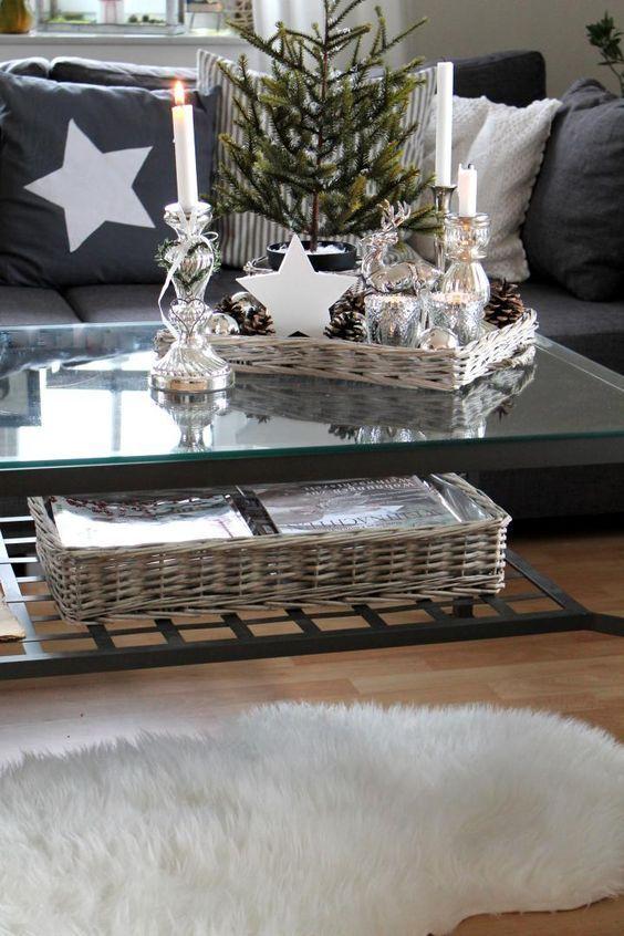 Abbellire casa con un cesto a natale ecco 15 idee per for Abbellire casa