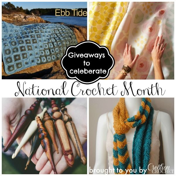 Did you know that March was National Crochet Month? In celebration of this wonderful month I am going to be doing lots of reviews giveaways.