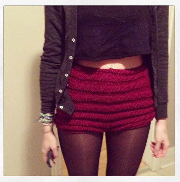 Knitted Shorts Patterns Google Search Knitcrochet Future