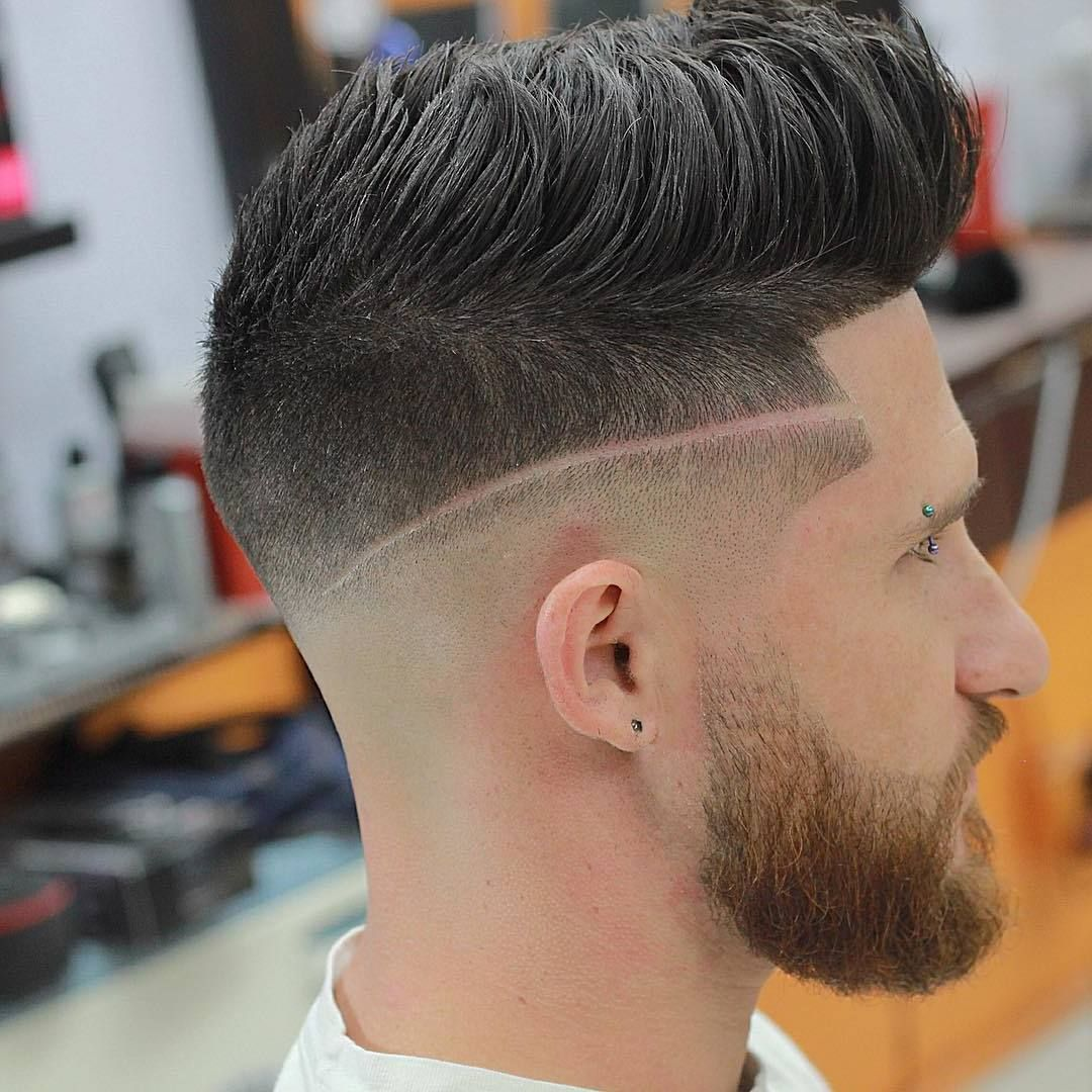 Manner Frisuren Kurz Undercut Mit Strich Yskgjt Com