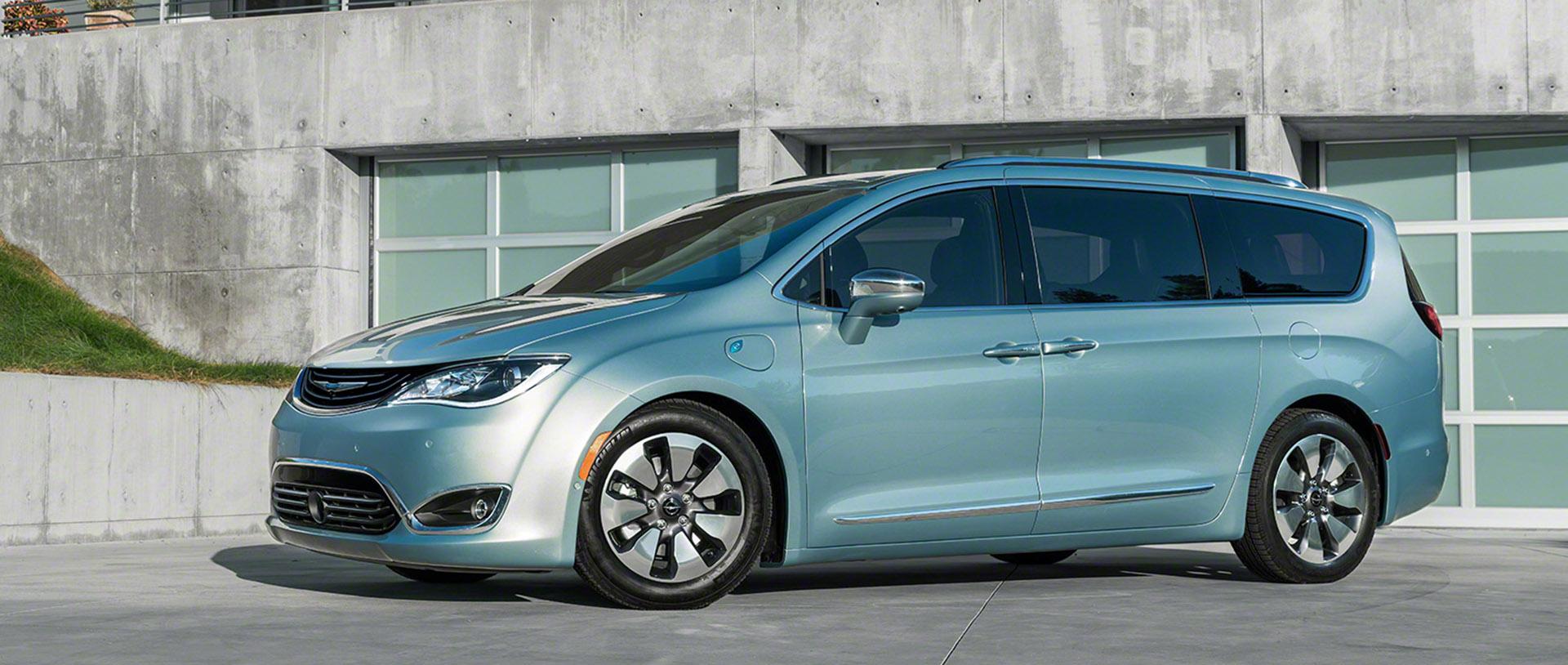 2017 Chrysler Pacifica Minivan Consumer Reports