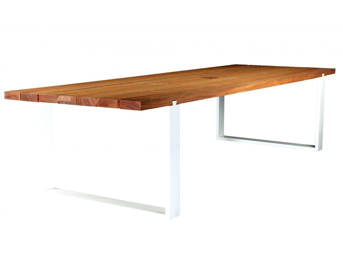 De oogstrelende Vigor tafel heeft veel charisma door de ...