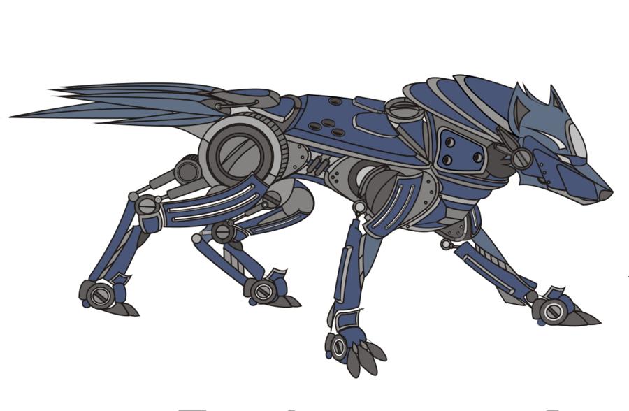Deviantart Robot Animals: Robot Wolf - Google Search