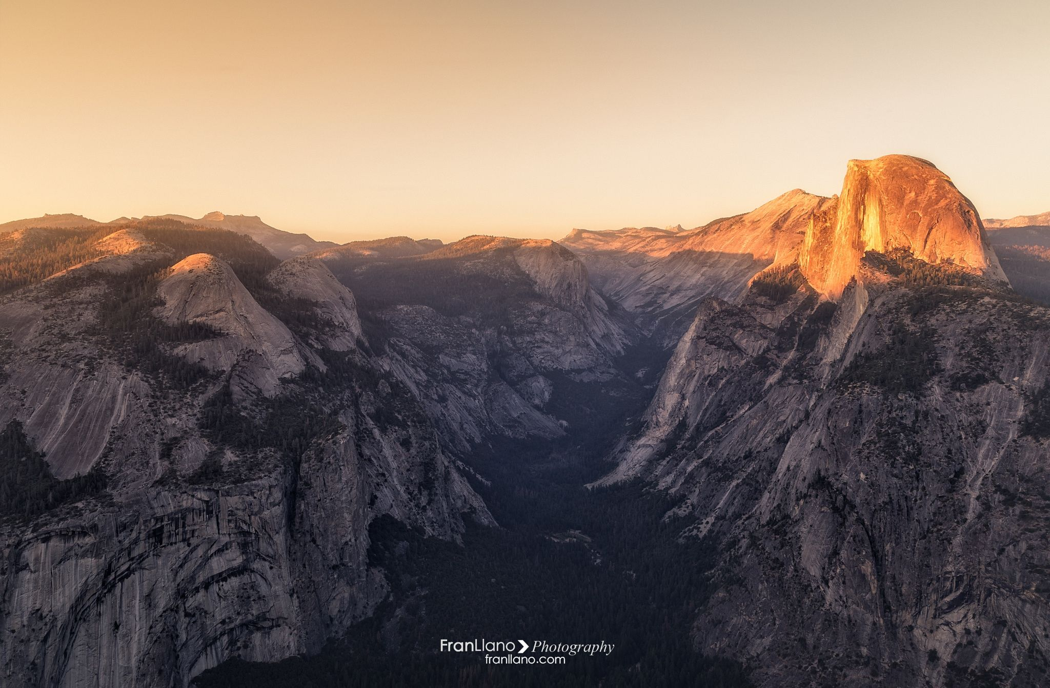 Glacier Point - Yosemite National Park, USA  Facebook page-> www.facebook.com/franllanophotography web-> www.franllano.com