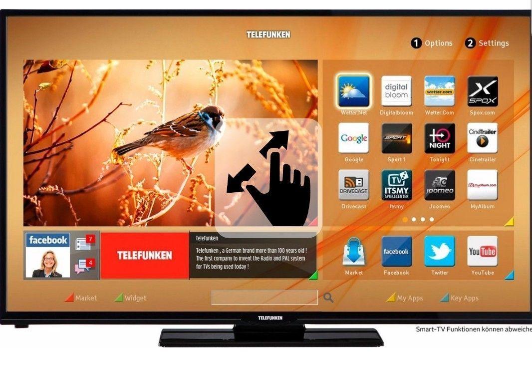 Ebay LED-TV Telefunken, LED Fernseher, 127 cm (50 Zoll), 1080p (Full