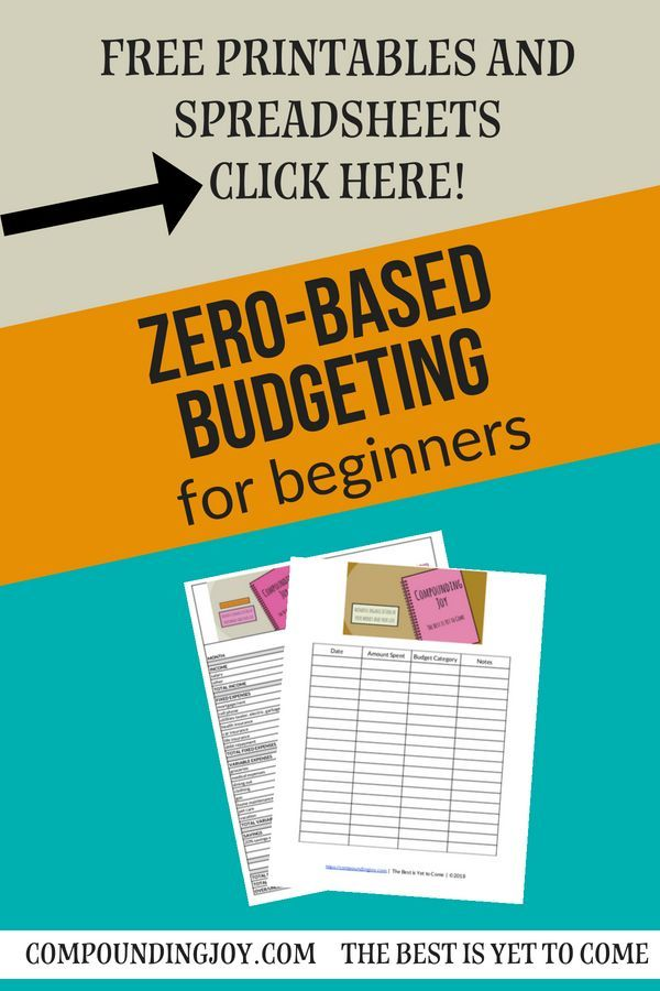 Zero-Based Budgeting A Beginner\u0027s Guide Pinterest Free