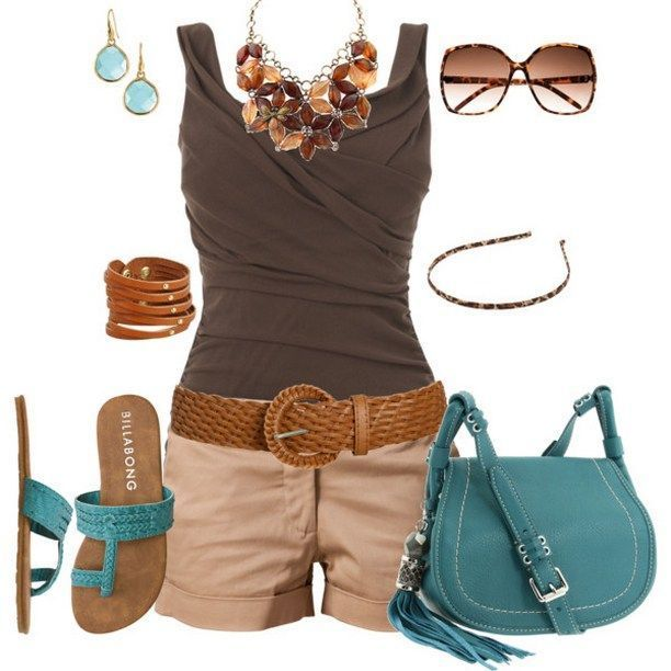 Süße lässige Sommer Outfits Kombinationen #chicsummeroutfits