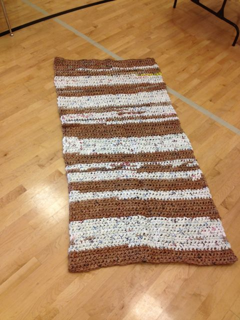 Great Way To Recycle Plastic Shopping Bags Sleeping Mats Or Rugs