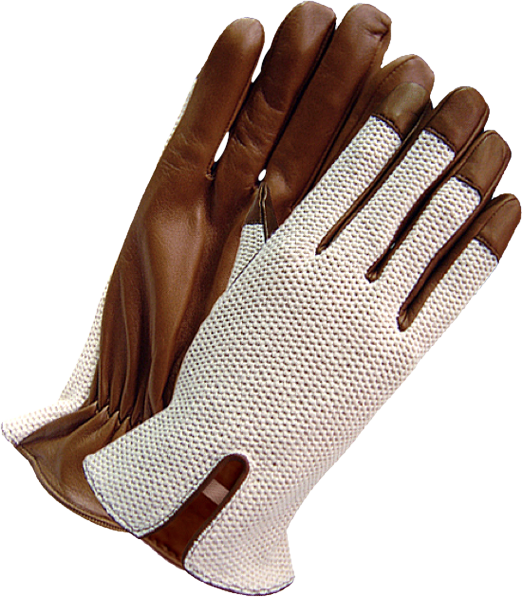 Ladies leather horse riding gloves - Chapal Grand Prix Driving Gloves With Notched Wrists That Allow For Wristwatch Visibility The Leather