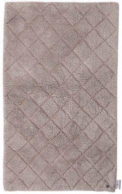 Badezimmer Teppich Cotton Pattern Diamond Hellbraun Von Tom Tailor Badematte Fussboden Teppich Braun