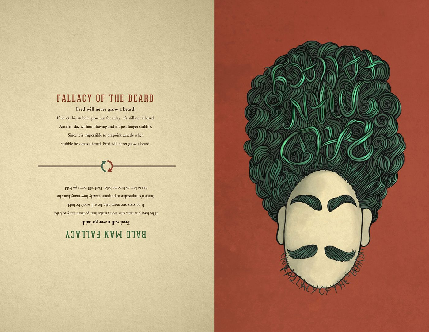 Student Work Logical Fallacy Posters On Behance