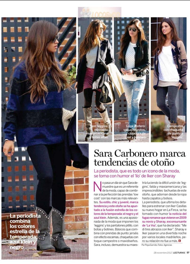 Sara carbonero magazine potential new style pinterest magazines london style and fashion - Sara carbonero ropa vogue ...