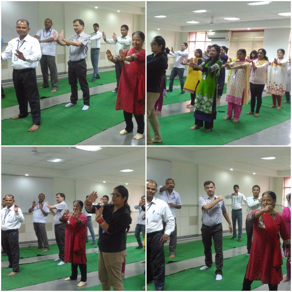 "KIIT organized ""Zumba Dance"" for health as well as"