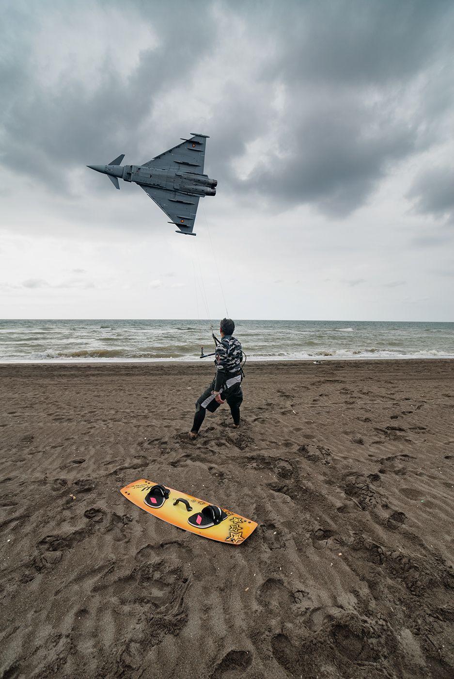 El kitesurf o kitesurfing