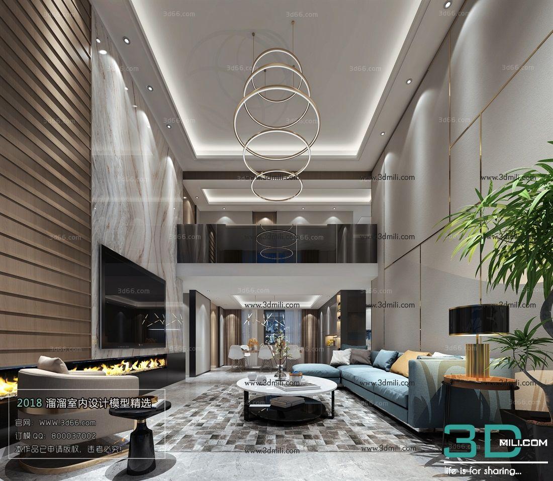 12 Modern Living Room 3dsmax File Free Download Living