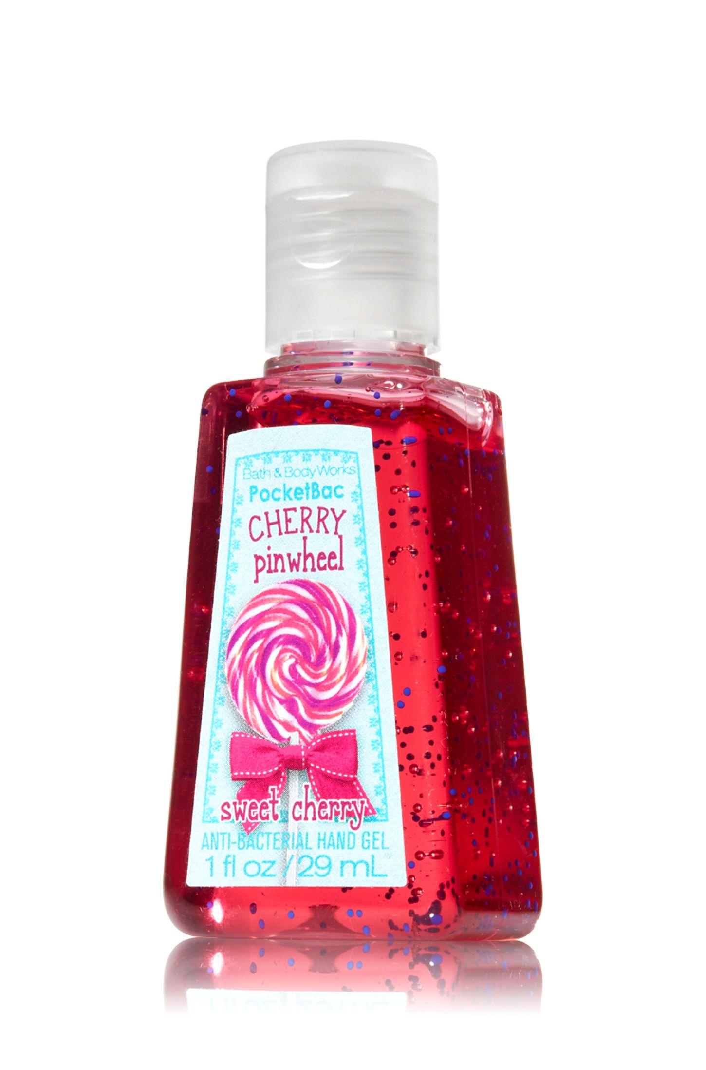 Cherry Pinwheel Pocketbac Sanitizing Hand Gel Soap Sanitizer