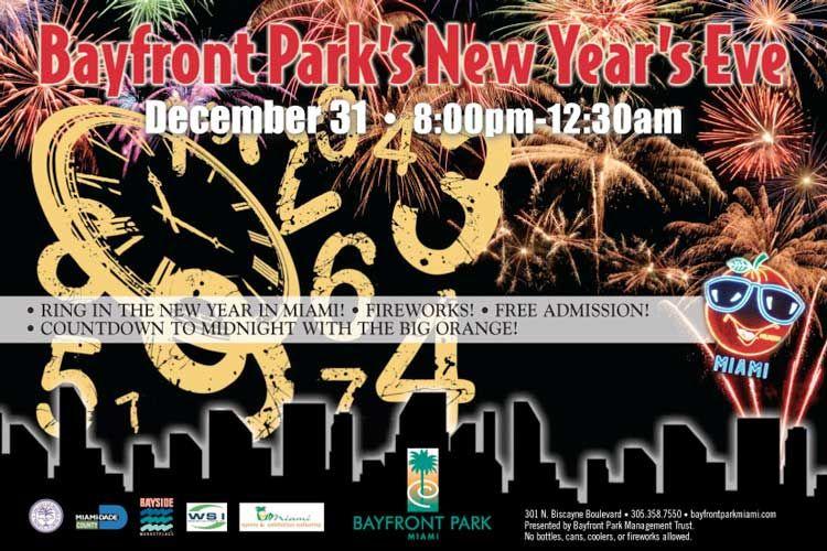 New Year 2015 at Bayfront Park Miami South beach miami