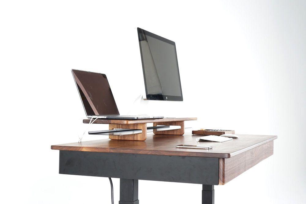 Woolsey Smart Desk Walnut Or White Oak Sean Woolsey