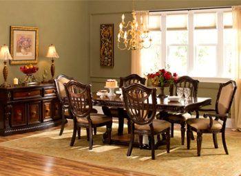 Lovely Grand Estates 7 Pc. Dining Set