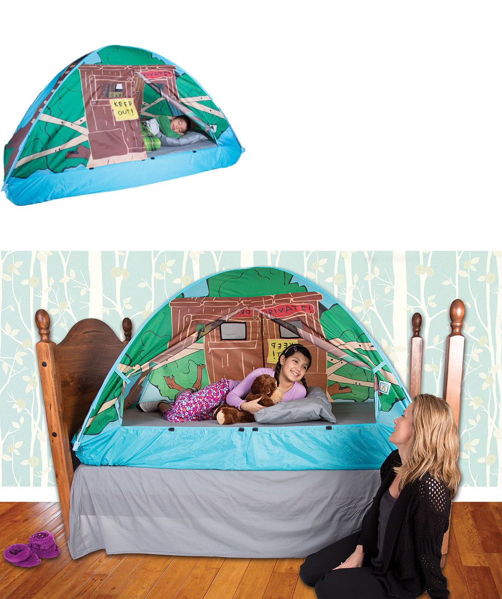 Play Tents 145997 Tree House Bed Tent Twin -u003e BUY IT NOW ONLY  sc 1 st  Pinterest : tree house bed tent - memphite.com