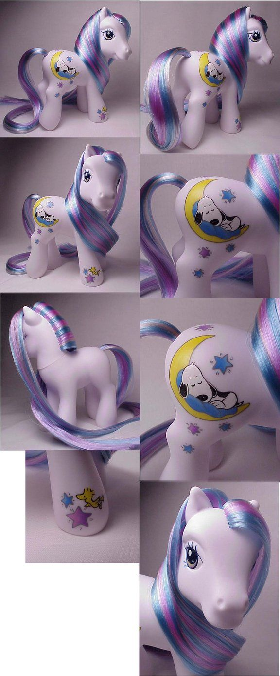Snoopy custom my little pony, by Woosie @ DeviantArt