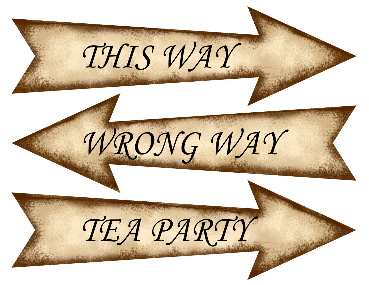 If This Were A Standard Html Site I D Love These As The Page Navigation Alice In Wonderland Sign Alice In Wonderland Tea Party Alice In Wonderland Printables