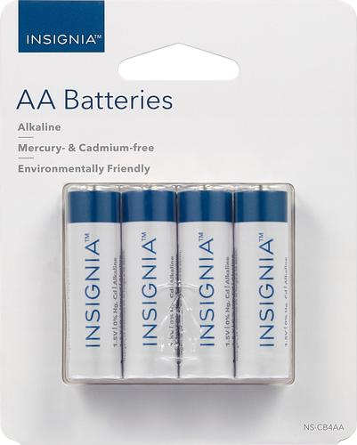Insignia Aa Batteries 4 Pack Ns Cb4aa Best Buy Cool Things To Buy Alkaline Battery Batteries
