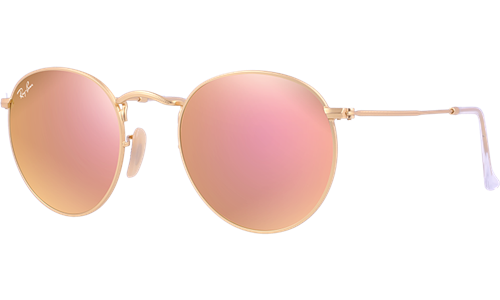 1c38699013f1 Ray-Ban Sunglasses Collection - RB3447-1 - ROUND METAL FLASH LENSES | Ray  Ban® Official Site - International