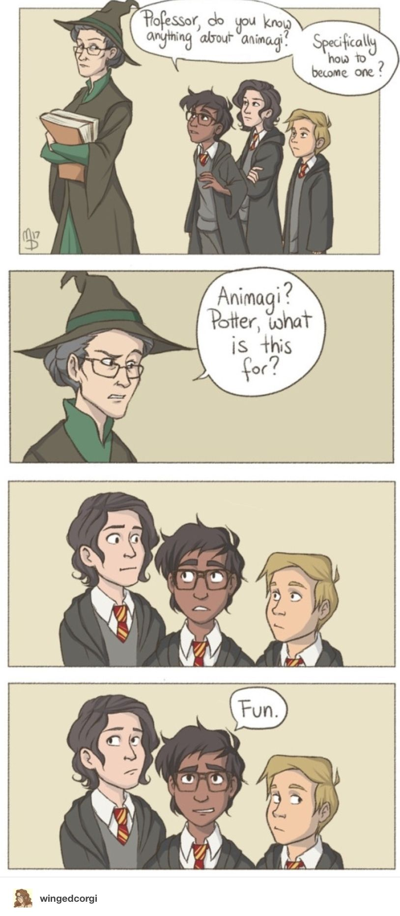 James Uh You Know Hypothetically And All It S Just That I Was Really Interested In The Complex Tr Harry Potter Comics Harry Potter Funny Harry Potter Jokes