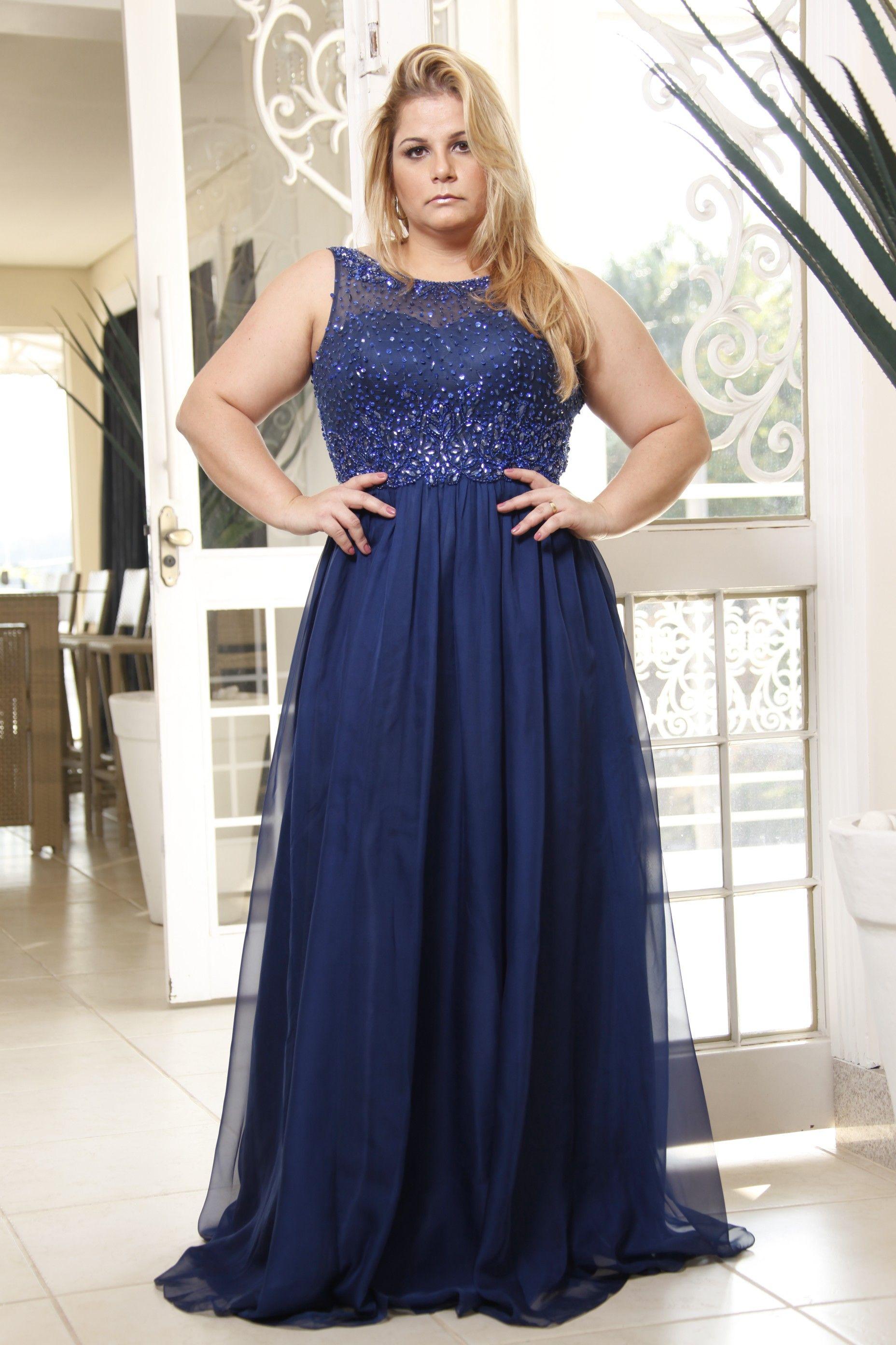 SP02994 VESTIDO LONGO | vestidos de festa plus size | Pinterest ...