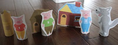 The Activity Mom: Based on Children's Books  Lots of fun ideas on this website! :)