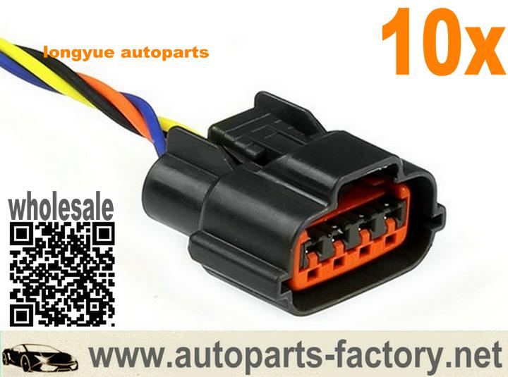 Longyue Distributor Plug Pigtail Fits Nissan 240sx S13 Ka24de Dohc 91 92 93 94 6 Nissan Skyline Car Electronics Gtr