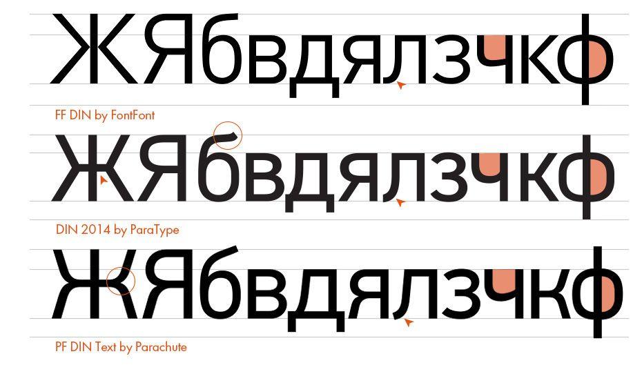 Журнал «Шрифт» u2022 Десять шрифтов с кириллицей 2015 года, о которых - cv meaning