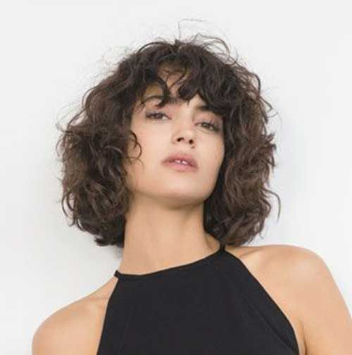 Short Curly Hair And Bangs Jpg 500 504 Naturlocken Frisuren Bob Haare Locken Haarschnitt Kurz