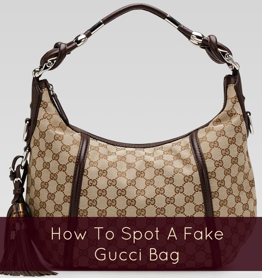 d2759c432df How to spot a fake Gucci handbag