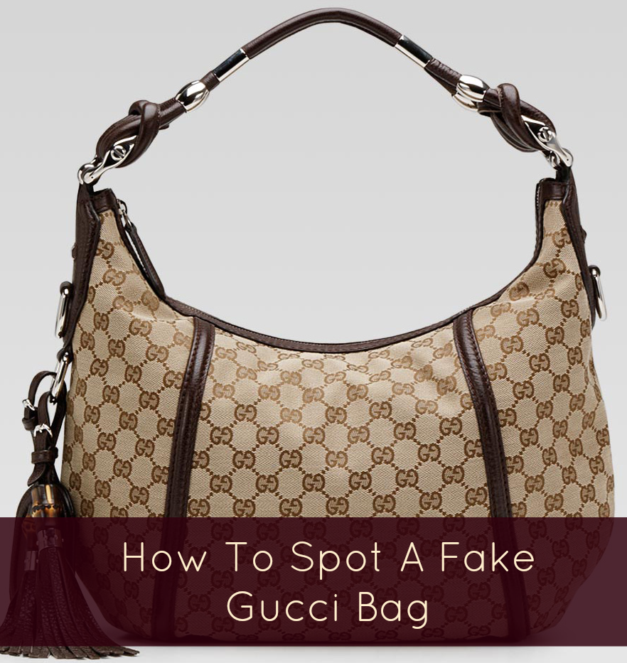 6e9cddcbbd532f How to spot a fake Gucci handbag | ◊ the vivant ◊ | Gucci hobo bag ...