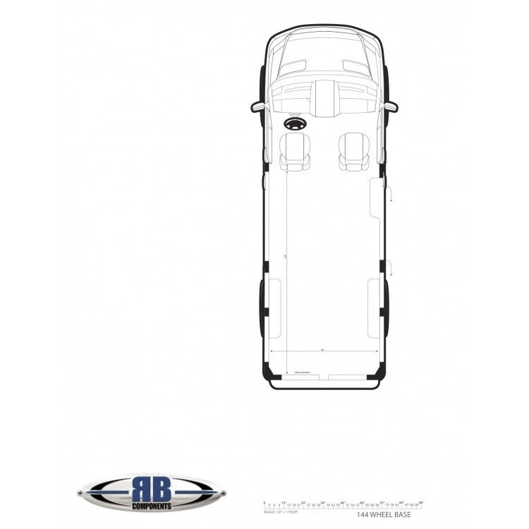 Sprinter Floorplan Templates 144 170 170 Ext Sprinter Van Sprinter Mercedes Sprinter