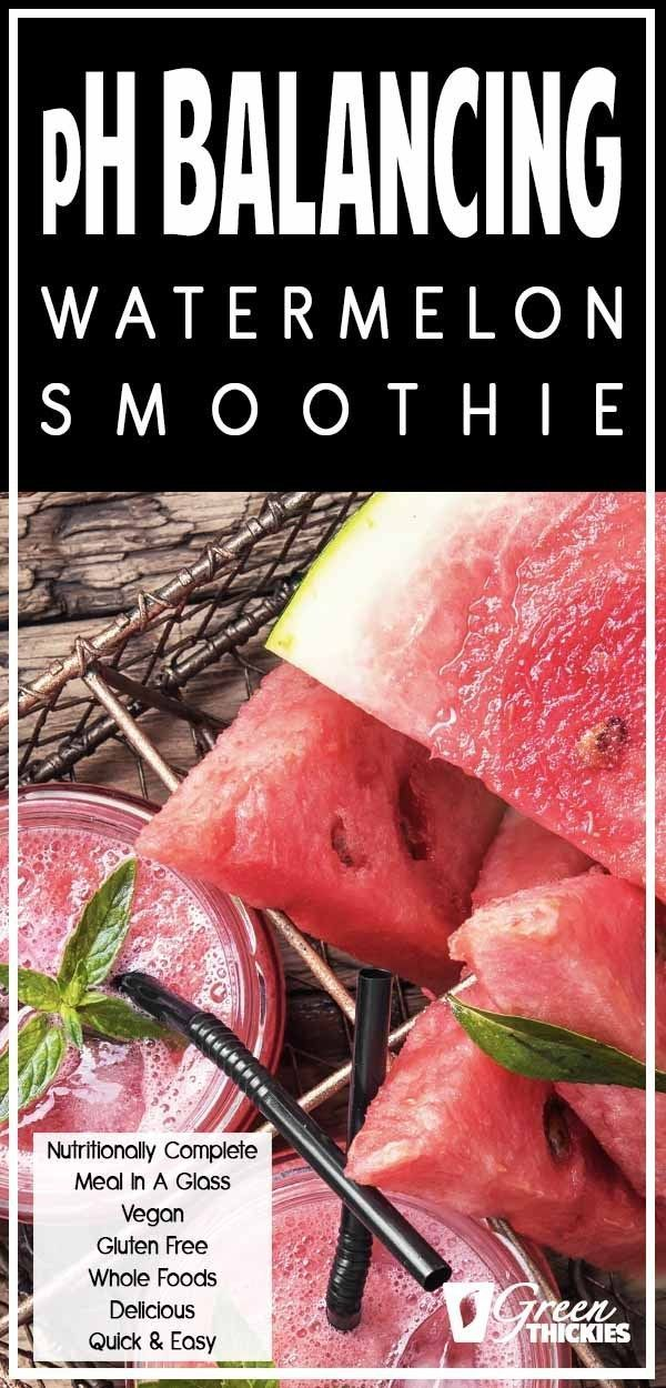 Wet Summer Watermelon Smoothie and swarming fly stresses (Green Smoothie/Green Thickie) #fruitsmoothie