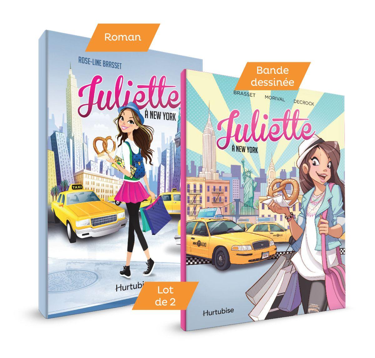 Juliette A New York Le Roman Et La Bd Rose Line Brasset