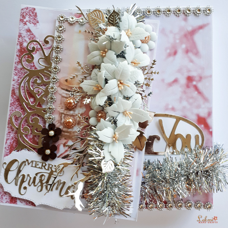 3D Handmade Merry Christmas Greeting Card 2020 Christmas Greeting Card Gift