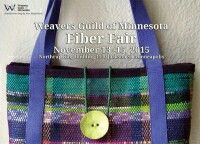 Fabric Fair today Sun. Nov.15: 12pm to 4pm, #332 Northrup King Bldg, Hand-made scarves, shawls, purses, rugs, placemats, wall hangings, hand-spun yarn and more. Northrup King Bldg, 1500 Jackson St NE, Mpls.