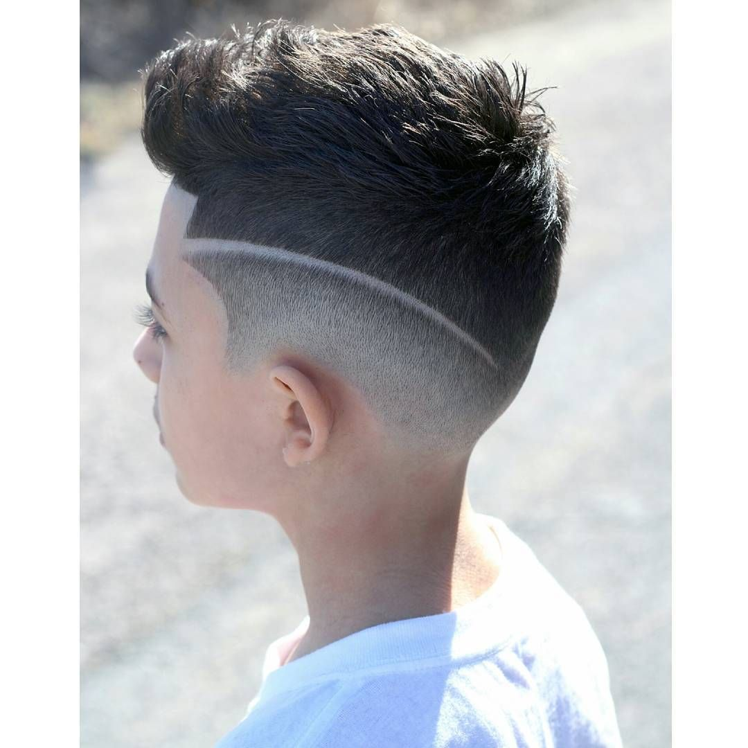 Boy Disconnected Undercut Hairstyles | Teenage Boy Haircut ...