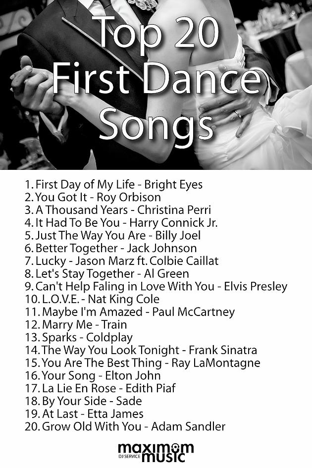 Maximum Music Toronto Dj Services First Dance Wedding Songs First Dance Songs Wedding Songs