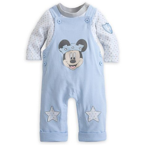 bb5dbf7f474a Mickey Mouse Dungaree Set for Baby