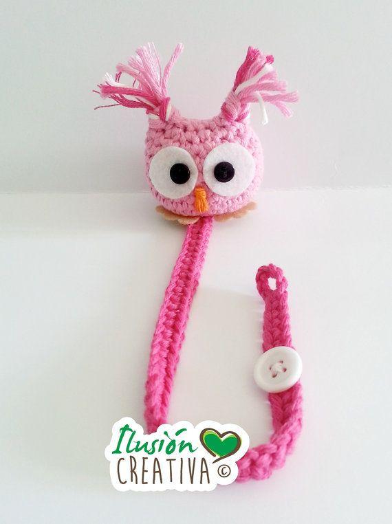 Porta-Chupetes por IlusionCreativa en Etsy | animales crochet ...