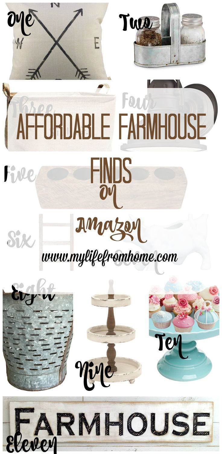 Im always looking for farmhouse decor at a reasonable price amazon has a