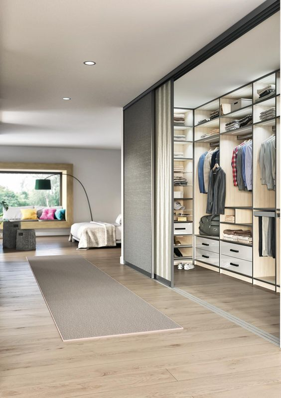 30 Space Saving Bedroom Storage Ideas 2020 Unique Stylish Space Saving Bedroom Wardrobe Room Dressing Room Design