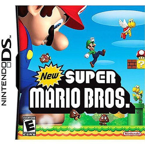 New Super Mario Bros Game Nintendo Ds Dsi Xl Lite 3 3ds 2 2ds