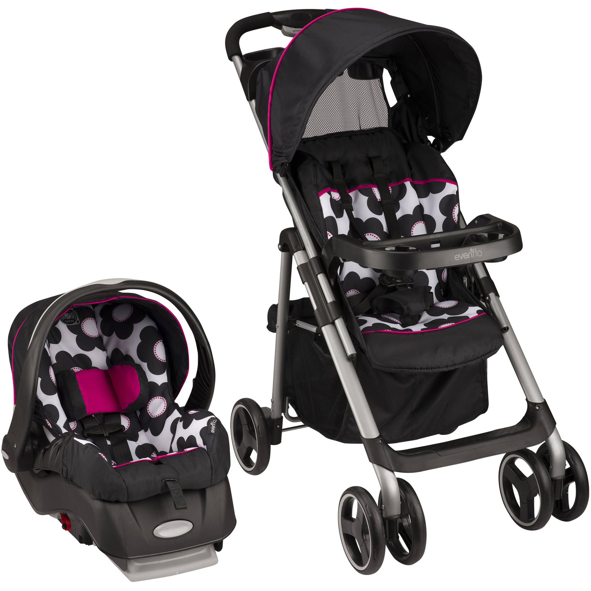The First Years Jet Stroller Naturalization (Black