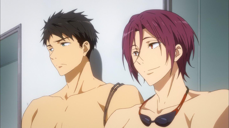 【腐向】らくがきまとめ3 [15] | Free anime, Free iwatobi, Makoharu